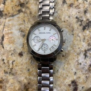 Michael Kors stainless steel watch
